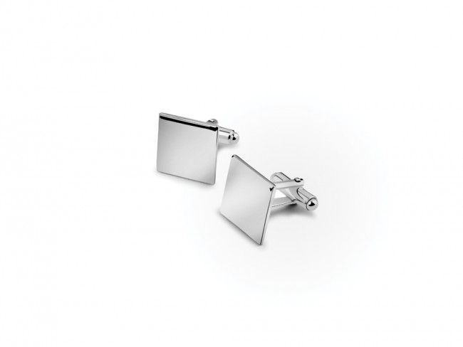 Cufflinks Square, 15mm, silver 925