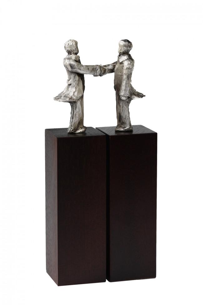 Sculpture Agreement silverplated