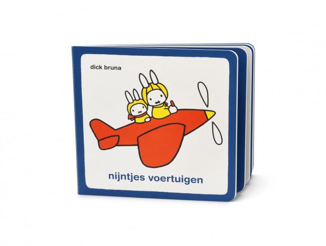 Children's cutlery Miffy vehicles + book