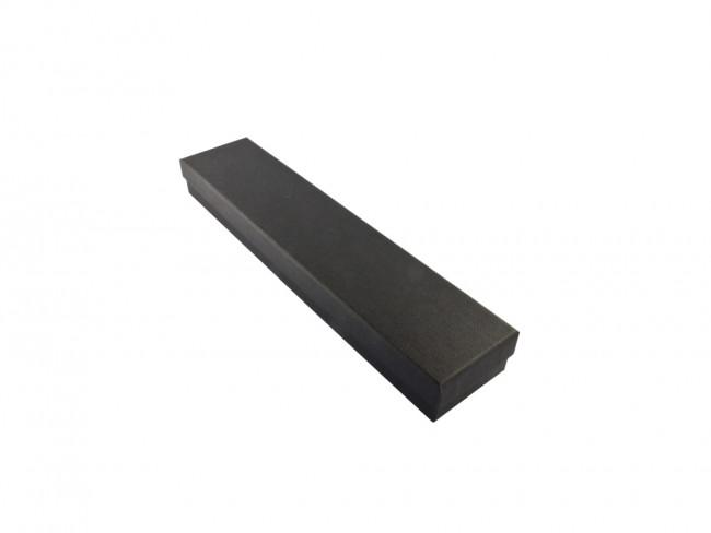 Geschenketui für Brieföffner schwarz 260x55x22mm