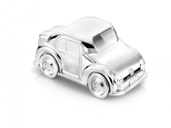Money box Car silver colour