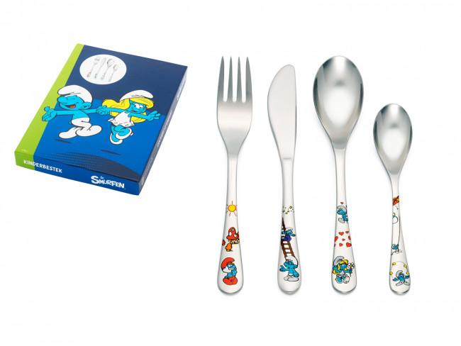 Children's cutl. 4-pcs The Smurfs s/s+col.