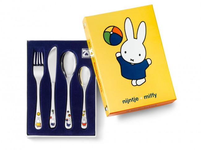 Children's cutlery 4-pcs miffy plays s/s
