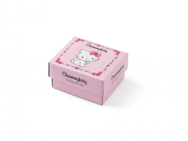 First Tooth/hair curl  Box Charmmykitty 5.5x4.5cm sp./lacq.