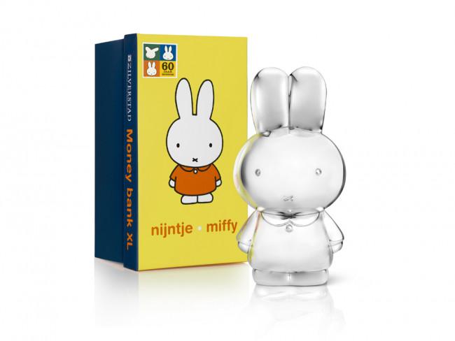 Money Box miffy XL sp./lacq. 8,3x9,5x18cm