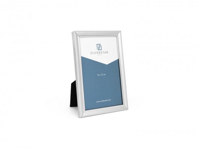 Photo frame Pearl, narrow edge, 10x15cm sp./lacq.