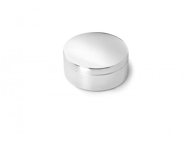 Box plain round 42mm sp./lacq.