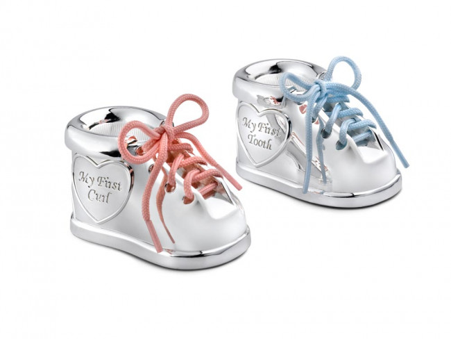 Tooth/haircurl box Shoe+2 col. laces sp/l