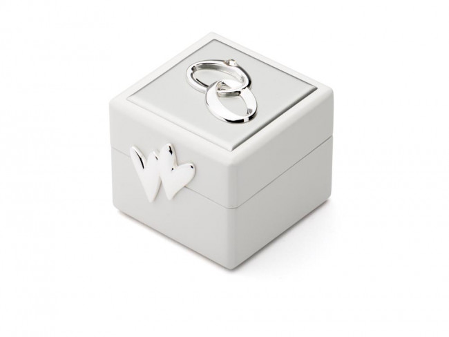 Wedding ring box with icon sp/l