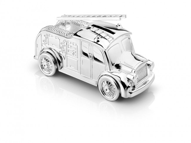 Money Box Fire engine 7x15cm sp/l