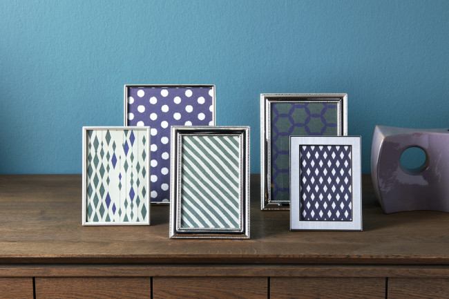Photo frame Pearl 10x15cm sp./lacq.
