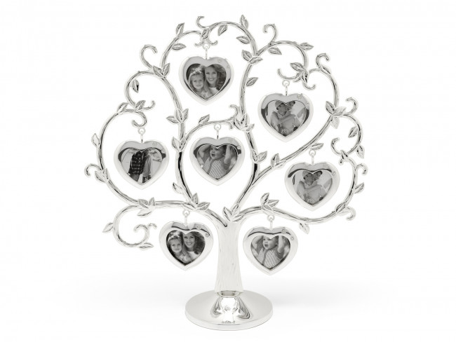 Family Tree Heart 2x 7 photos sp/l