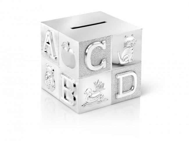 Money box Cube big 7.5x7.5x7.5cm sp/l
