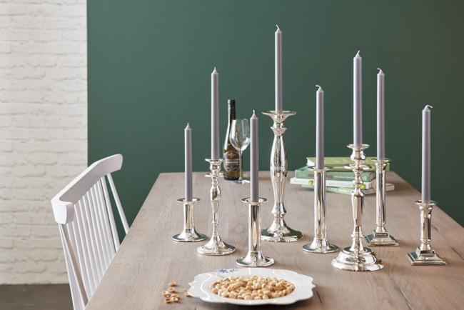 Candle stick Grazia s/2 ø13x30cm sp/l