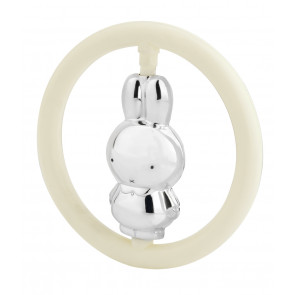 Teething ring Miffy silver 925