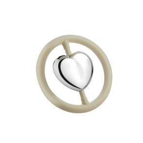 Teething ring Heart sp. B90