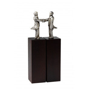 Sculpture Agreement silverplated