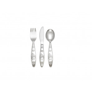 Children's cutlery 3-pcs Princess, 18/10 stainless steel