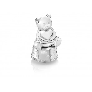 Music/Money box Bear with heart sp/l