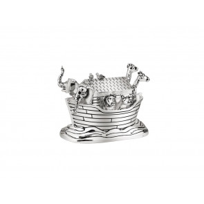 Music box Noah's Ark silver colour