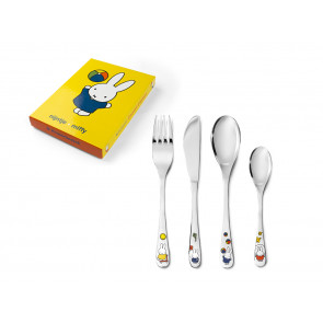 Children's cutlery 4-pcs miffy plays s/s