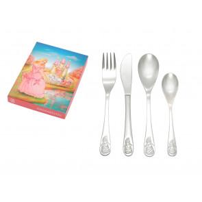 Children's cutlery 4-pcs Princess s/s