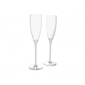 Champagne glasses Smooth sp./lacq. set of 2