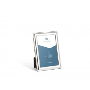 Photo frame Kansas 10x15 cm, silver plated lacquered