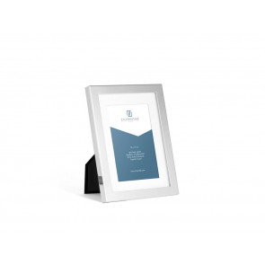 Photo frame Nevada 10x15 cm, silver plated lacquered