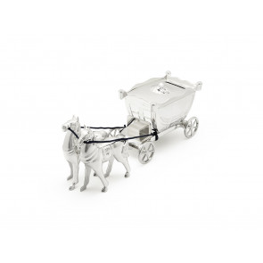Money box Coach with horses sp/l