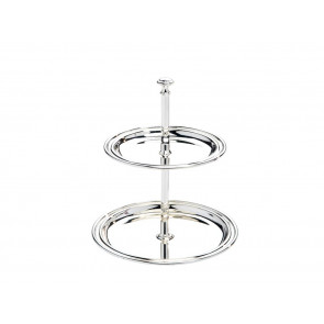 Serving stand Elegance 2-tier, small 11,5x14cm sp.