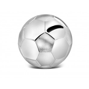 Money Box Football 8,5x8,5x8cm sp./lacq.