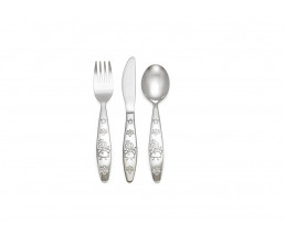 Children's cutlery Princess, 3 pieces, stainless steel
