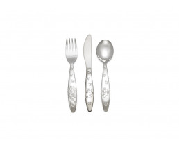 Children's cutlery Emergency vehicles, 3 pieces, stainless steel