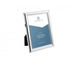 Photo frame Pearl 10x15 cm, silver plated lacquered