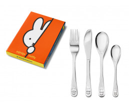 Children's cutlery miffy, 4 pieces, stainless steel