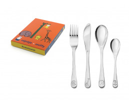 Children's cutlery miffy zoo, 4 pieces, stainless steel