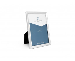 Photo frame Pearl 13x18 cm, silver plated lacquered