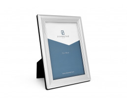 Photo frame Linea 13x18 cm, silver plated lacquered