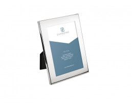 Photo frame Riga 10x15 cm, silver plated lacquered