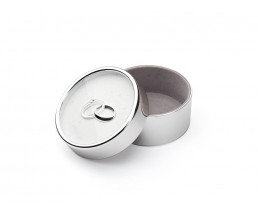 What-not-box Our Engagement, silver plated lacquered
