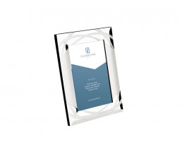 Photo frame Verona 10x15 cm, silver plated lacquered