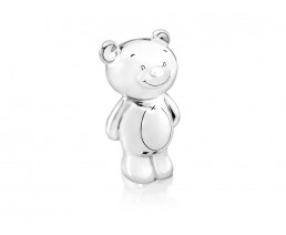 Money box Twinkle, silver plated lacquered