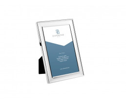 Photo frame Berlin 10x15 cm, silver plated lacquered