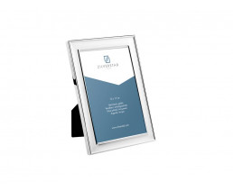 Photo frame Berlin 13x18 cm, silver plated lacquered