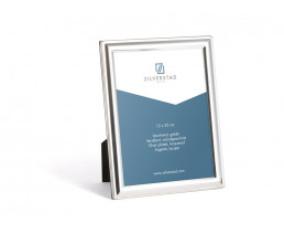Photo frame Kansas 15x20 cm, silver plated lacquered