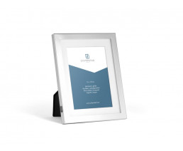Photo frame Nevada 13x18 cm, silver plated lacquered