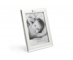 Photo frame Crown 13x18 cm, silver plated lacquered