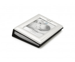Photo album Crown, silver plated lacquered
