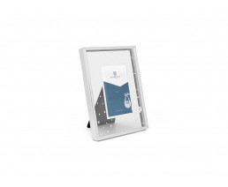 Photo frame Stork 5x8 cm, silver plated lacquered